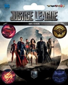 Официальный набор стикеров Лига Справедливости / Justice League