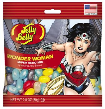Конфеты Jelly Belly Super Hero Mix Wonder Woman