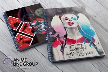 Harley Quinn скетчбук