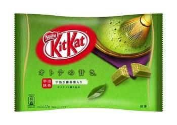 KitKat Зеленый Чай (Большая упаковка)