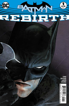 Batman. Rebirth #1 Cover A 1st Ptg Regular Mikel Janin Cover (УЦЕНКА)