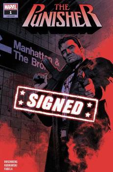 The Punisher #1 Cover J Regular Greg Smallwood Cover Signed By Matthew Rosenberg (с автографом)