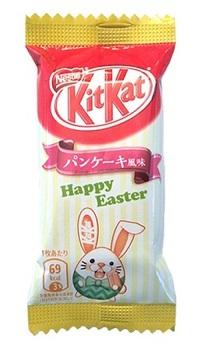 """KitKat батончик """"Пасхальный кролик"""" с медом"""