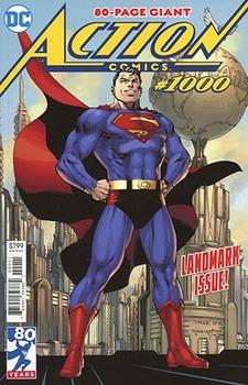 Action Comics #1000 Cover A Regular Jim Lee & Scott Williams Cover