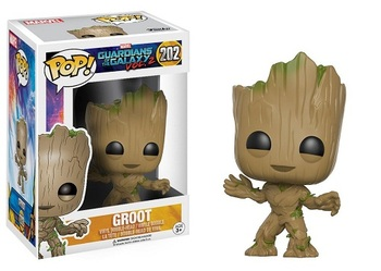 Фигурка-башкотряс Funko Грут Стражи Галактики 2 / Groot Guardians of the Galaxy Vol. 2
