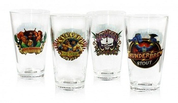 Набор из 4 стаканов World of Warcraft