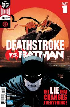 DC Universe. Deathstroke #30 Cover C 2nd Ptg Variant Lee Weeks Cover