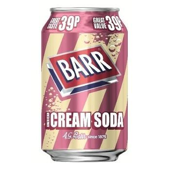 Barr American Cream Soda Американская Крем-сода (Банка 330 мл)