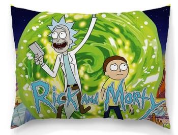 Подушка Рик и Морти / Rick and Morty