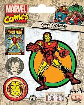 Официальный набор стикеров Железный Человек / Iron Man