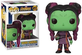 Фигурка-башкотряс Funko Маленькая Гамора (Война Бесконечности) / Young Gamora (Infinity War)