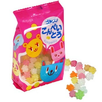 Сахарные конфеты Kasugai Conpeito
