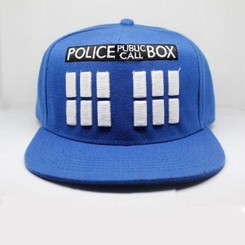 Бейсболка Тардис Доктор Кто / Tardis Doctor Who