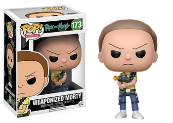Фигурка Funko Вооружённый Морти (Рик и Морти) / Weaponized Morty (Rick and Morty)