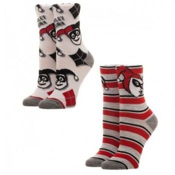 Официальные носки Bioworld Харли Квинн / Harley Quinn (комплект из двух пар)