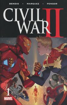 Civil War II #1 Cover A 1st Ptg Regular Marko Djurdjevic Cover