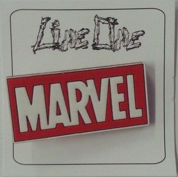 Деревянный значок Марвел / Marvel