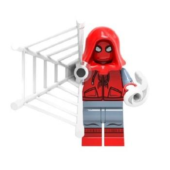 Минифигурка Человек-Паук (Самодельный Костюм) Возвращение домой / Spider-Man (Homemade Suit) Homecoming
