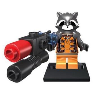 Минифигурка Реактивный Енот / Rocket Raccoon (Guardians of the Galaxy)