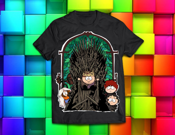 South Park / Game of Thrones футболка