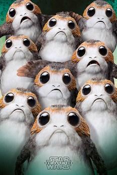 Официальный постер Порг Звёздные Войны / Porg Star Wars
