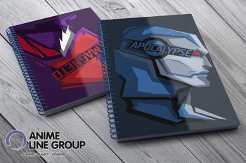 Скетчбук Apocalypse / Magneto