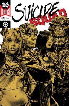 DC Universe. Suicide Squad #47 Cover A Regular Dan Panosian Enhanced Foil Cover