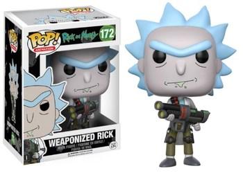 Фигурка Funko Вооружённый Рик (Рик и Морти) / Weaponized Rick (Rick and Morty)