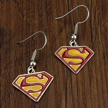 Серьги Superman