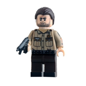 Минифигурка Рик Ходячие мертвецы / Rick The Walking Dead