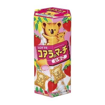 Печенье Lotte Koala Клубника 50 г.