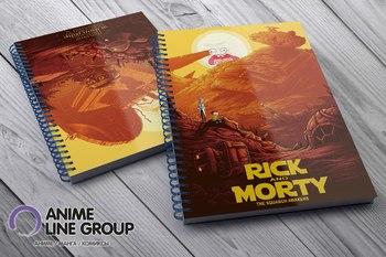 Скетчбук Rick and Morty