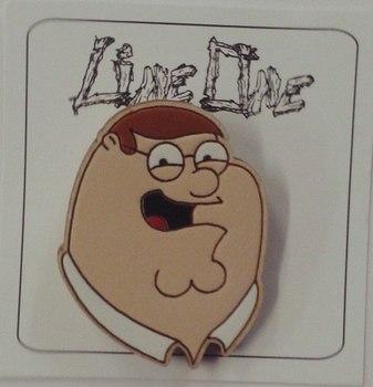 Деревянный значок Питер Гриффины / Peter Family Guy