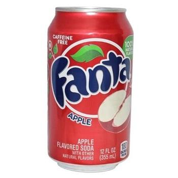 Fanta Яблоко (Банка 355 мл)