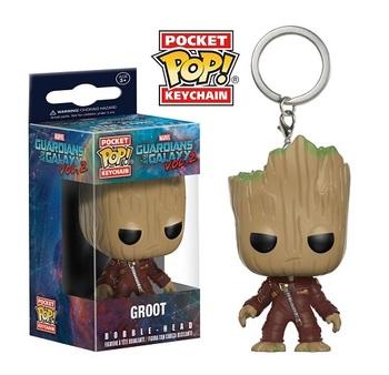 Брелок-фигурка Funko Грут Опустошитель Стражи Галактики 2 / Ravager Groot Guardians of the Galaxy Vol. 2