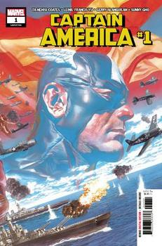 Captain America #1 Cover A 1st Ptg Regular Alex Ross Wraparound Cover