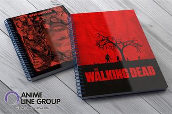 The Walking Dead скетчбук