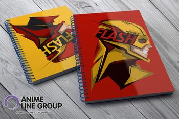 Скетчбук Reverse Flash / Flash