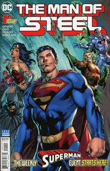 Man Of Steel #1 Cover A Regular Ivan Reis & Joe Prado Cover